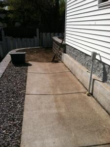 New garden area.